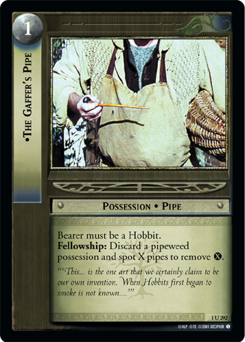 The Gaffer's Pipe (1U292) Card Image