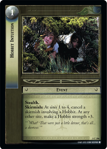 Hobbit Intuition (1C296) Card Image