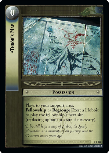 Thror's Map (1R318) Card Image