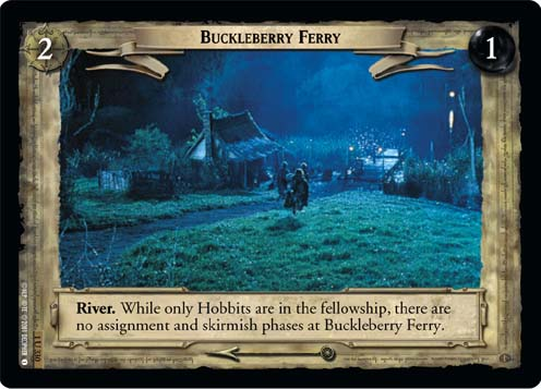 Buckleberry Ferry (1U330) Card Image