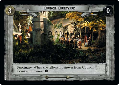 Council Courtyard (1C337) Card Image