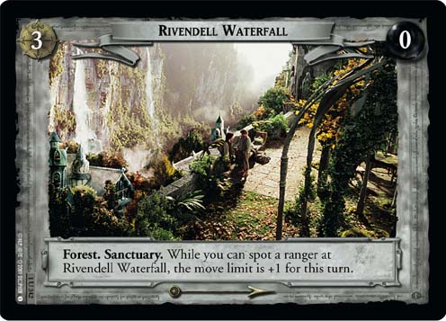 Rivendell Waterfall (1U342) Card Image