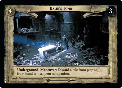 Balin's Tomb (1U343) Card Image