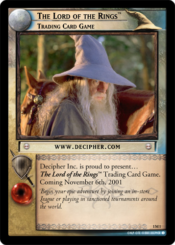 The Lord of the Rings, Trading Card Game (M) (1M1) Card Image