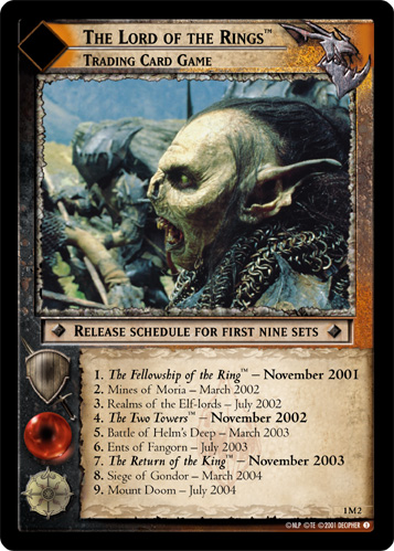 The Lord of the Rings, Trading Card Game (M) (1M2) Card Image