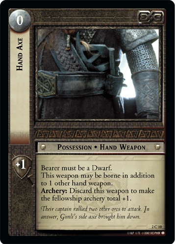 Hand Axe (2C10) Card Image