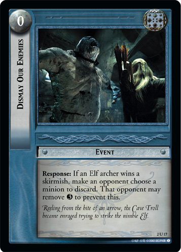 Dismay Our Enemies (2U17) Card Image