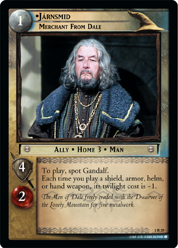 Jarnsmid, Merchant from Dale (2R25) Card Image