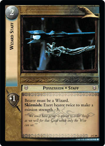 Wizard Staff (2C29) Card Image