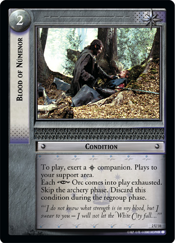 Blood of Numenor (2U31) Card Image