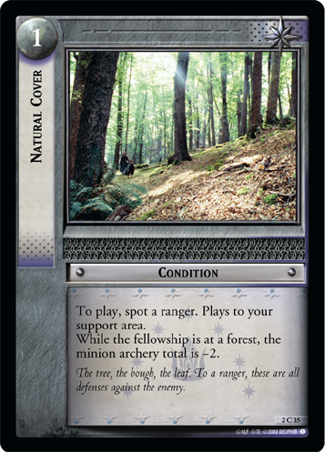 Natural Cover (2C35) Card Image