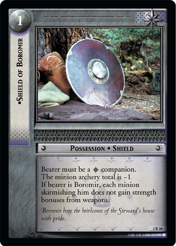 Shield of Boromir (2R38) Card Image
