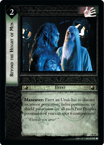 Beyond the Height of Men (2R39) Card Image