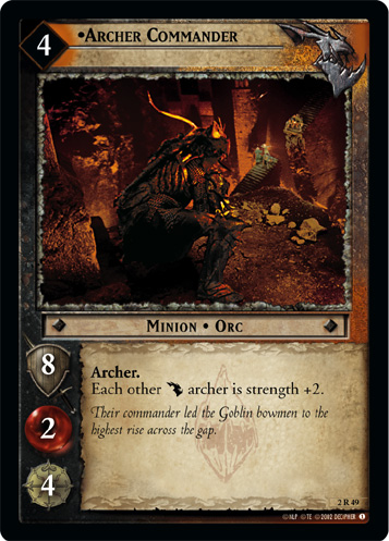 Archer Commander (2R49) Card Image