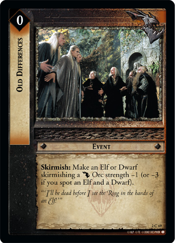 Old Differences (2C69) Card Image
