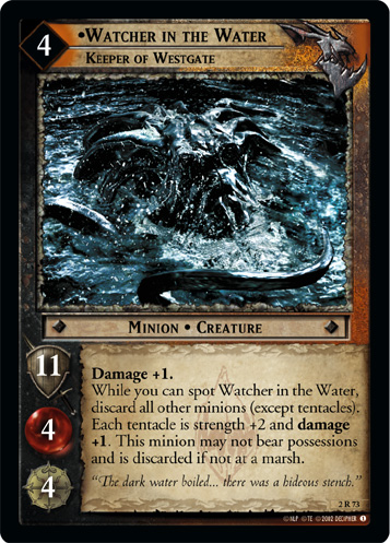 Watcher in the Water, Keeper of Westgate (2R73) Card Image