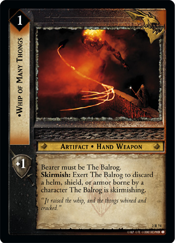 Whip of Many Thongs (2R74) Card Image