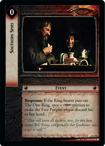 Southern Spies (2C91) Card Image