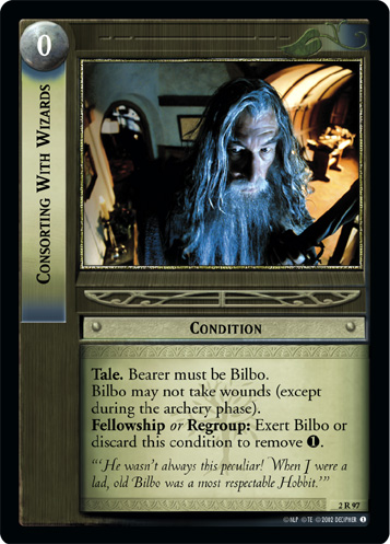 Consorting With Wizards (2R97) Card Image