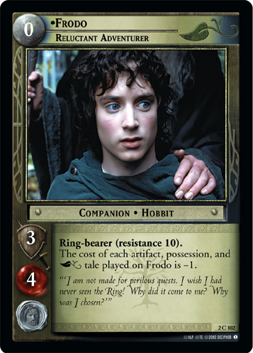 Frodo, Reluctant Adventurer (2C102) Card Image