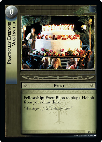 Practically Everyone Was Invited (2U111) Card Image
