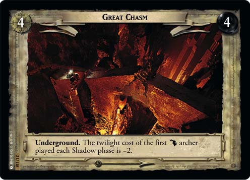 Great Chasm (2U118) Card Image