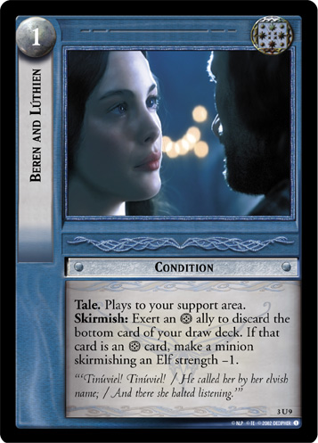 Beren and Luthien (3U9) Card Image