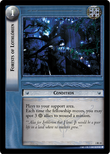 Forests of Lothlorien (3R15) Card Image