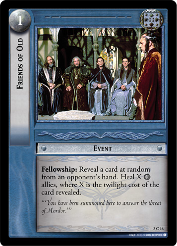 Friends of Old (3C16) Card Image