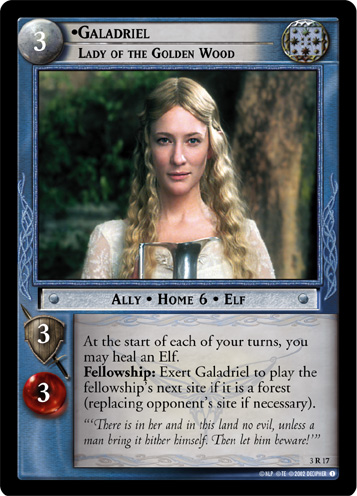 Galadriel, Lady of the Golden Wood (3R17) Card Image