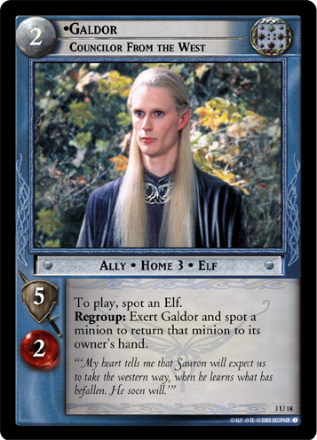 Galdor, Councilor From the West (3U18) Card Image