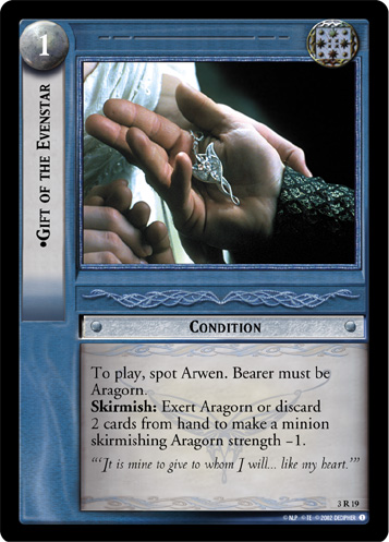 Gift of the Evenstar (3R19) Card Image