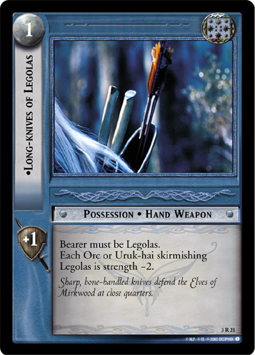 Long-knives of Legolas (3R21) Card Image