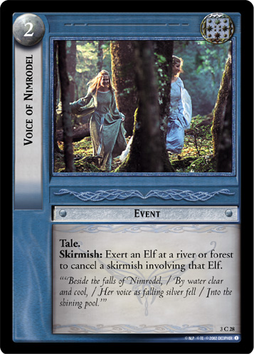 Voice of Nimrodel (3C28) Card Image