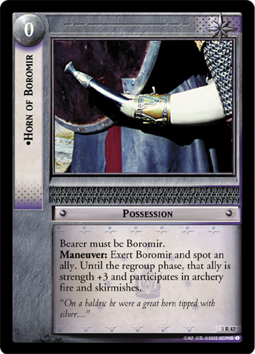 Horn of Boromir (3R42) Card Image