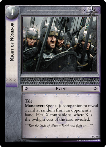 Might of Numenor (3C43) Card Image