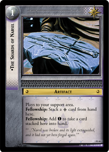 The Shards of Narsil (3R44) Card Image