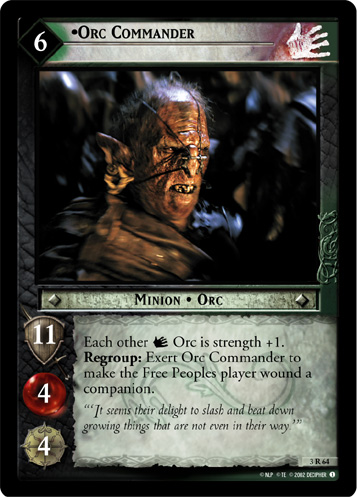 Orc Commander (3R64) Card Image