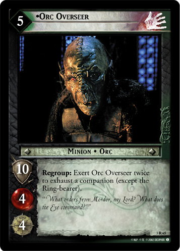 Orc Overseer (3R65) Card Image