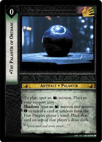 The Palantir of Orthanc (3R67) Card Image