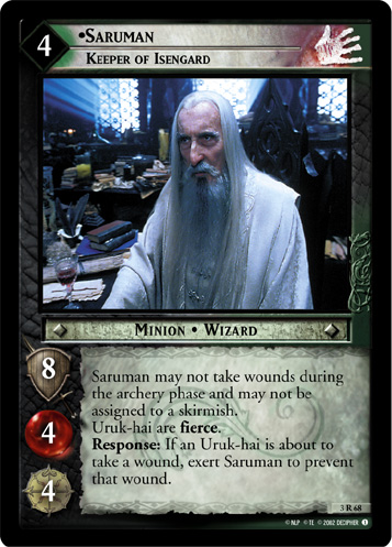 Saruman, Keeper of Isengard (3R68) Card Image