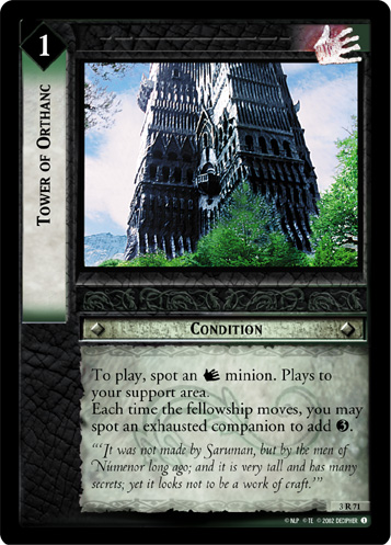 Tower of Orthanc (3R71) Card Image