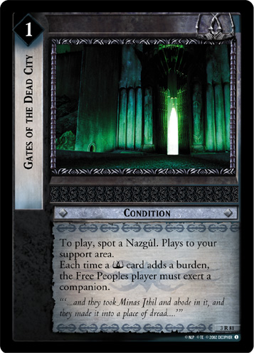 Gates of the Dead City (3R81) Card Image