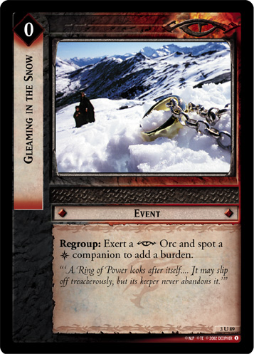 Gleaming in the Snow (3U89) Card Image