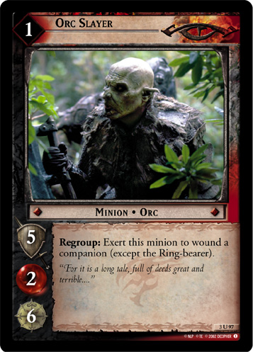 Orc Slayer (3U97) Card Image