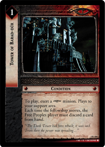 Tower of Barad-dur (3R104) Card Image