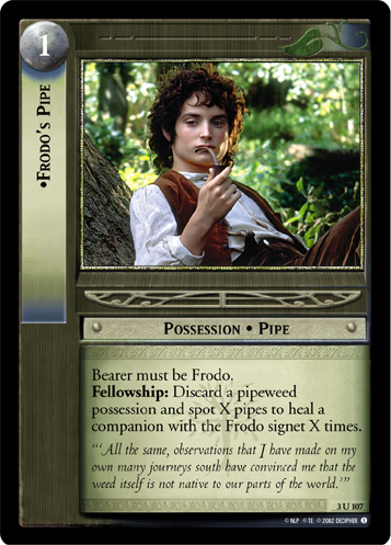 Frodo's Pipe (3U107) Card Image