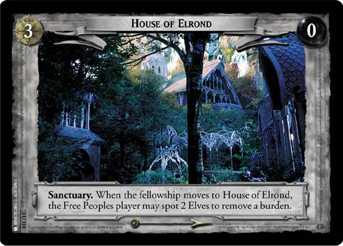 House of Elrond (3U119) Card Image
