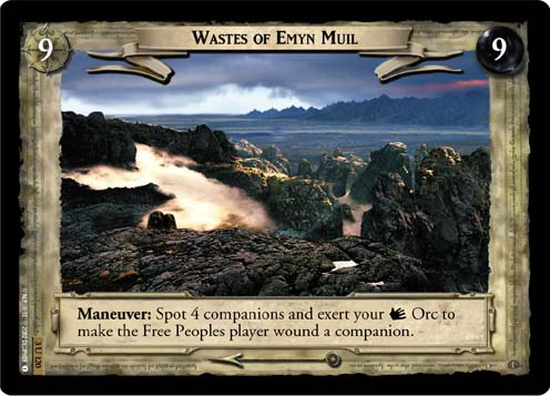 Wastes of Emyn Muil (3U120) Card Image