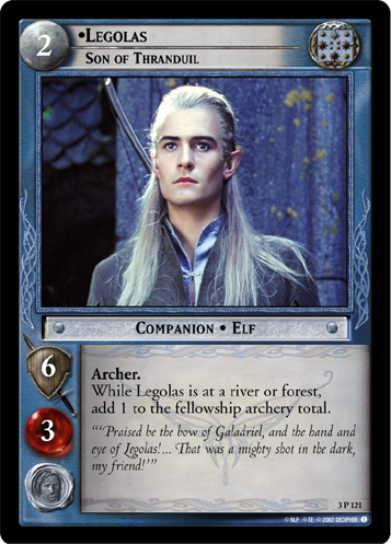 Legolas, Son of Thranduil (3P121) Card Image